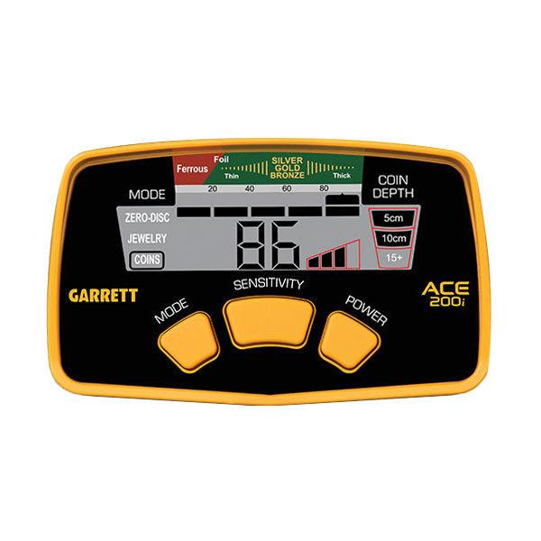 Detektor kovov GARRETT ACE 200ii