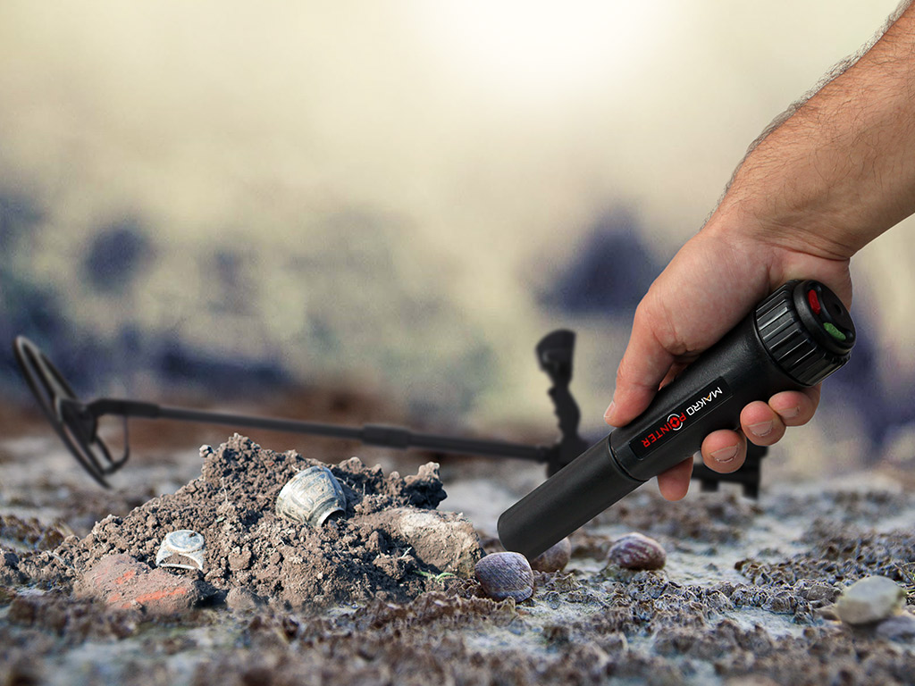 Detektor kovov makro pointer