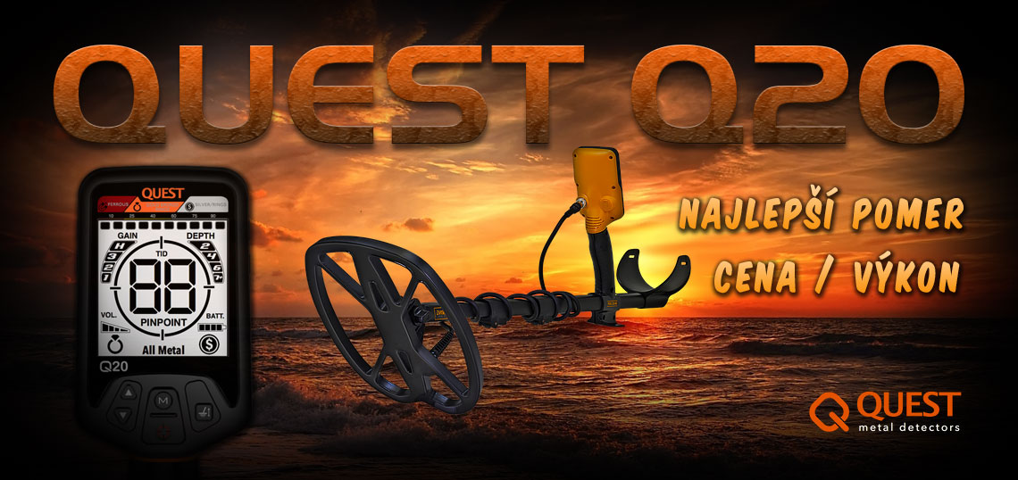 Detektor kovov QUEST Q20