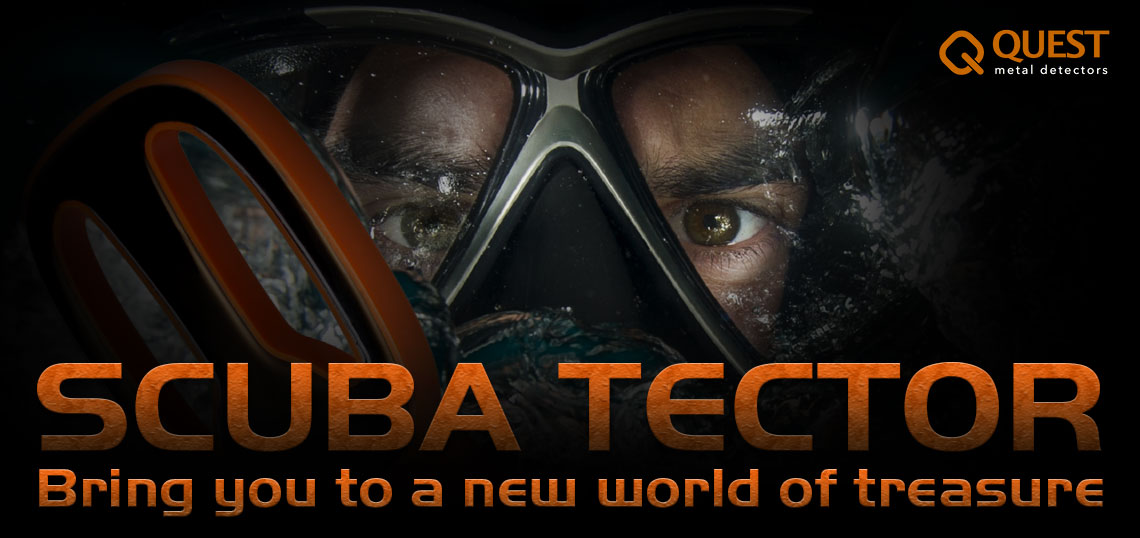 Detektor kovov QUEST SCUBA TECTOR