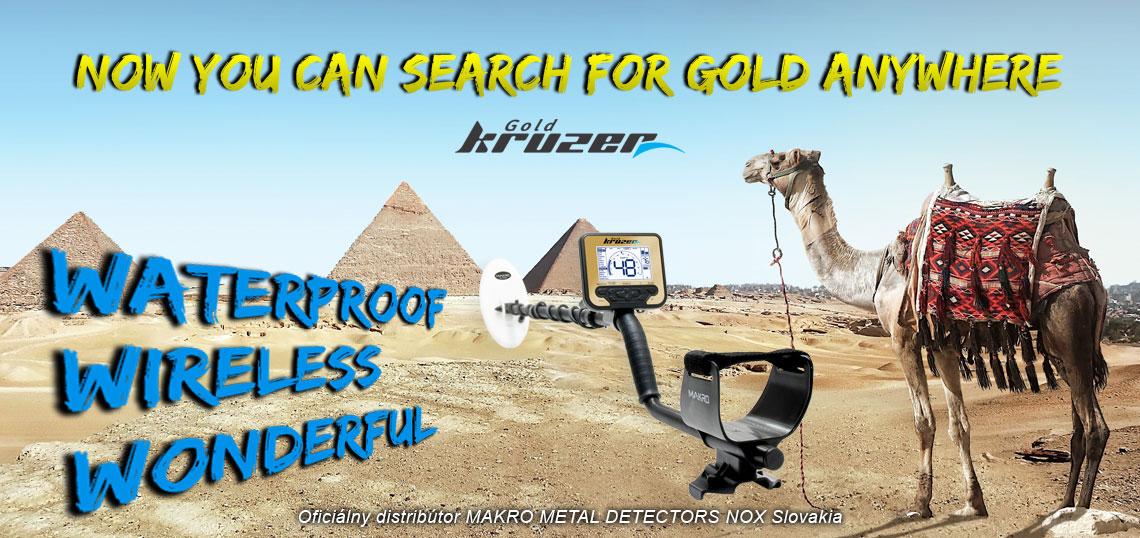 Detektor kovov NOKTA MAKRO GOLD KRUZER